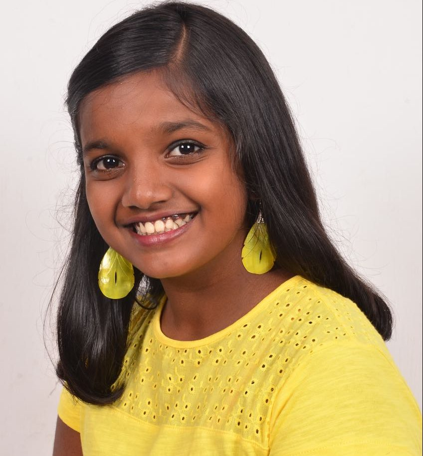 Meet The Little Darling – ANANYA V GANESH